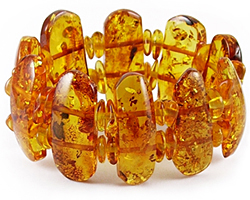 Baltic Amber Beads Bracelet Art.BC039