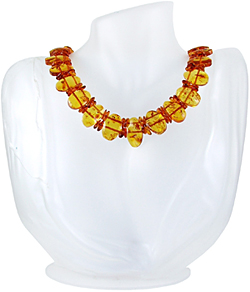 Baltic Amber Beads Necklace Art.ABA027