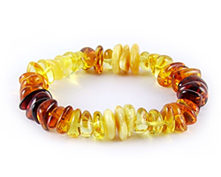 Baltic Amber Beads Bracelet Art.BA303
