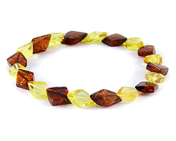 Baltic Amber Beads Bracelet Art.BA505