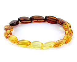Baltic Amber Beads Bracelet Art.BA506