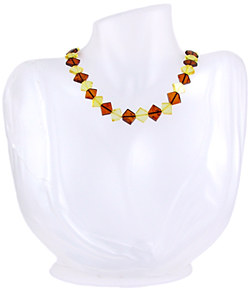 Baltic Amber Beads Necklace Art.ABA042