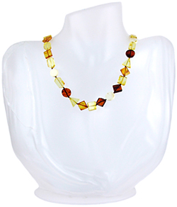 Baltic Amber Beads Necklace Art.ABA044