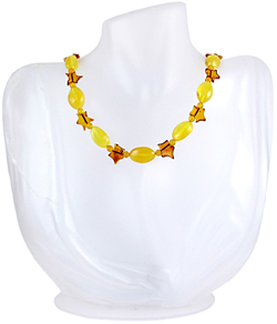 Baltic Amber Beads Necklace Art.ABA047