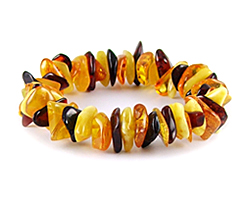 Baltic Amber Beads Bracelet Art.BA307