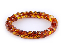Baltic Amber Beads Bracelet Art.BA504