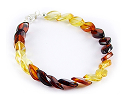 Baltic Amber Beads Bracelet Art.BA503