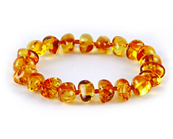 Baltic Amber Beads Bracelet Art.BA201