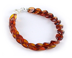 Baltic Amber Beads Bracelet Art.BA502