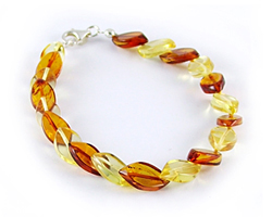 Baltic Amber Beads Bracelet Art.BA501