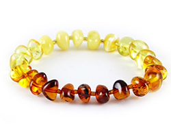 Baltic Amber Beads Bracelet Art.BA202