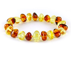 Baltic Amber Beads Bracelet Art.BA203
