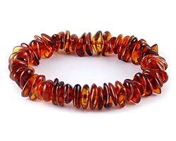Baltic Amber Beads Bracelet Art.BA301