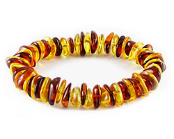 Baltic Amber Beads Bracelet Art.BA302