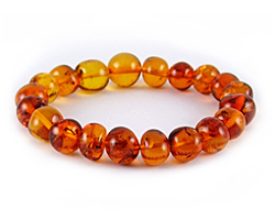 Baltic Amber Beads Bracelet Art.BA204