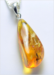 Baltic Amber Pendant Art.BP006